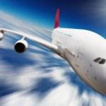 喷气式飞机 — 图库照片