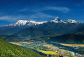 Annapurna massif — Stock Photo