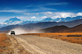 Tibetan highlands — Stock Photo