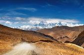 Tibetan road — Stock Photo