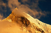Sunset in Himalaya — Stock Photo