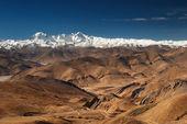 Tibetan landscape — Stock Photo