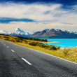 新西兰库克山 — 图库照片