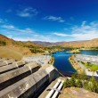 Hydroelectric station - Stock Photo