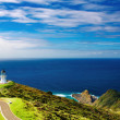 Stock Photo: Cape ReingLighthouse, New Zealand