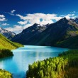 Mountain lake — Stock Photo #1700747