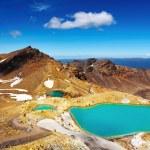 翡翠湖新西兰 — 图库照片