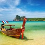 熱帯タイをビーチします。 — ストック写真