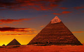 Pyramide-fantasy — Stockfoto