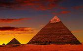 ピラミッドのファンタジー — ストック写真