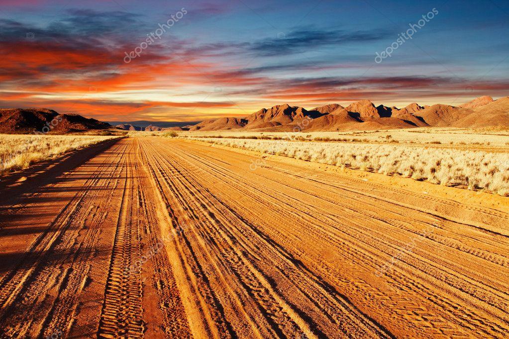 Photo Namibia  City new picture : Kalahari Desert, Namibia — Stock Photo © muha04 #1703972