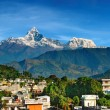 Stock Photo: City of Pokhara, Nepal