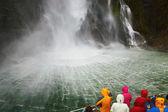 Milford Sound fiord, New Zealand — Stock Photo