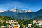 City of Pokhara, Nepal — Stock Photo