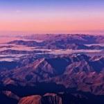 新西兰南阿尔卑斯山 — 图库照片