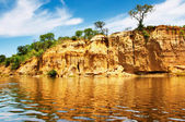 Nile River, Uganda — Stock Photo
