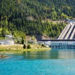 Hydroelectric dam, New Zealand — Stock Photo