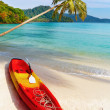 Tropical beach, Kood island, Thailand — Stock Photo