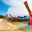 Tropical beach, Thailand - Foto de Stock