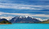 Ohau lake, New Zealand — Stock Photo