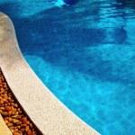 Swimming pool detail — Stock Photo