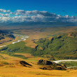 Mountain landscape, Plateau Ukok - Stock Photo