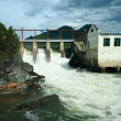 Stock Photo: Water-power plant