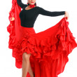 Stock Photo: Flamenco dancer