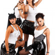 Stock Photo: Heavy metal girls