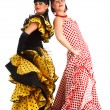 Stock Photo: Flamenco dancers
