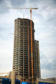 Building skyscraper — Stock Photo