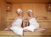 Sauna — Stock Photo