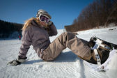 Snowborder — Stock Photo