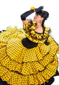Flamenco dancer — Stock Photo