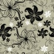 Vector Seamless floral twirled pattern - Stock Vector