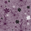 Royalty-Free Stock Imagem Vetorial: Vector Seamless floral twirled pattern