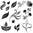 Royalty-Free Stock Vector Image: Set of leafs 2