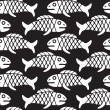 Royalty-Free Stock Imagem Vetorial: Pattern with fish