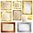 Royalty-Free Stock Vector Image: Set of beautiful frames