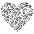 Royalty-Free Stock Immagine Vettoriale: Decorative heart