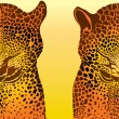 Royalty-Free Stock Vector Image: Leopard