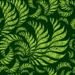 Seamless grunge floral pattern — Vector de stock