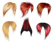 Hair styling for men — Stock Vector