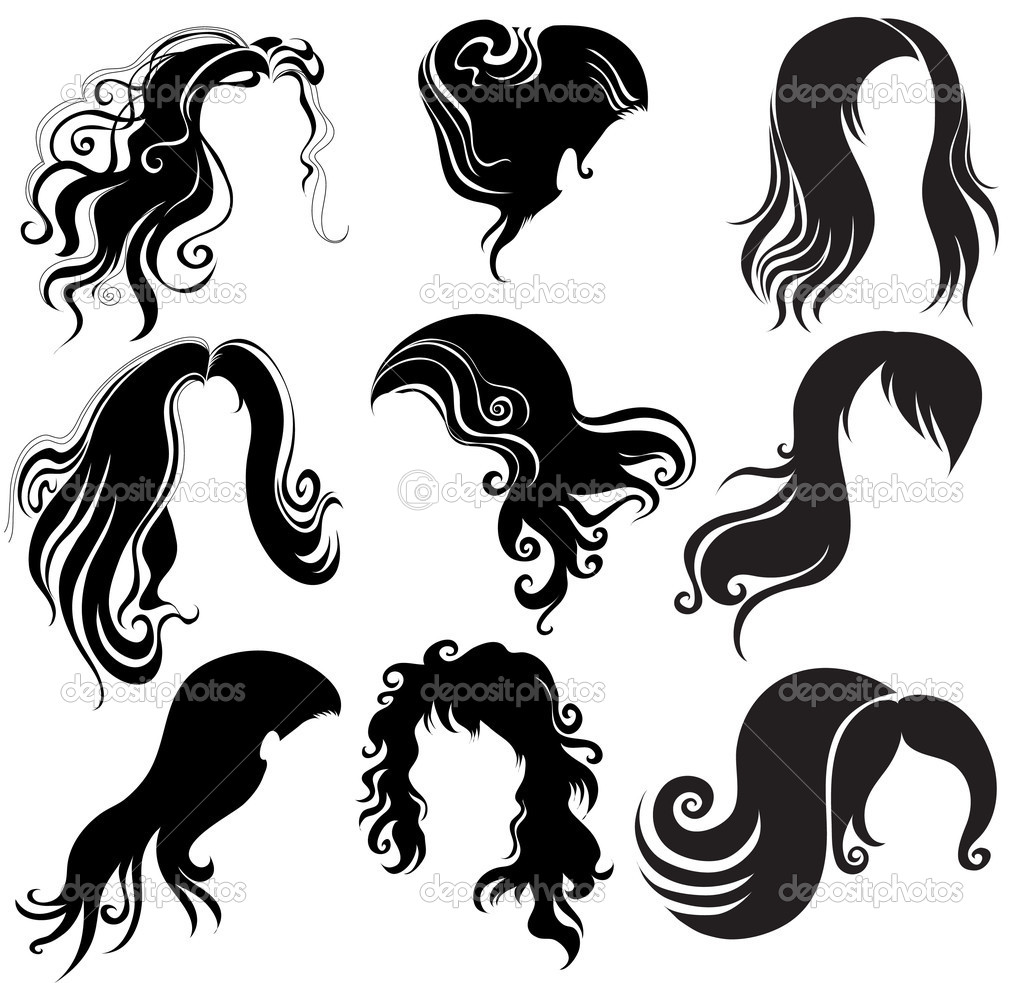 "black hair styling for woman (from my big ""Hair styling series"