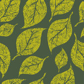 Seamless vintage grunge floral pattern — Stock Vector