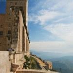 Monastery Montserrat, Spain — Stock Photo