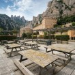 Monastery Montserrat, Spain - Stock Photo