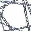 Isolated chain links 3d rendering — Stock Photo
