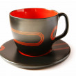 Stok fotoğraf: Black cup isolated