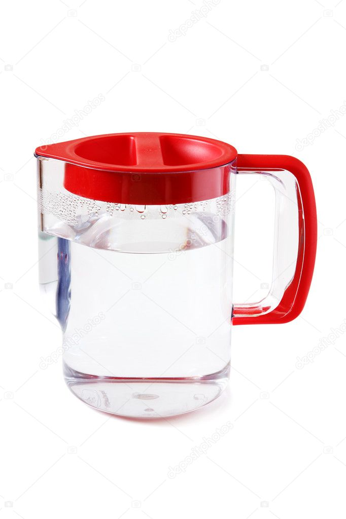 Jug with clear water — Stock Photo #1919701